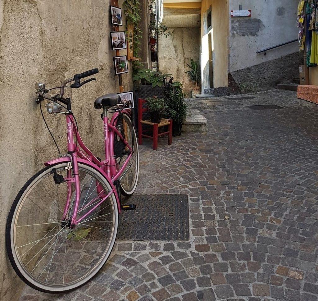 Street in Peschiera Maraglio